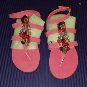 Shoes - *SALE! TODAY ONLY!!* Pink Multi Gladiator Sandals